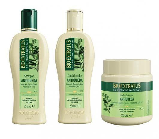 Kit Bio Extratus Antiqueda Jaborandi 250ml ( 3 Produtos )