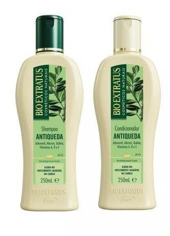 Kit Bio Extratus Antiqueda Jaborandi 250ml ( 2 Produtos )