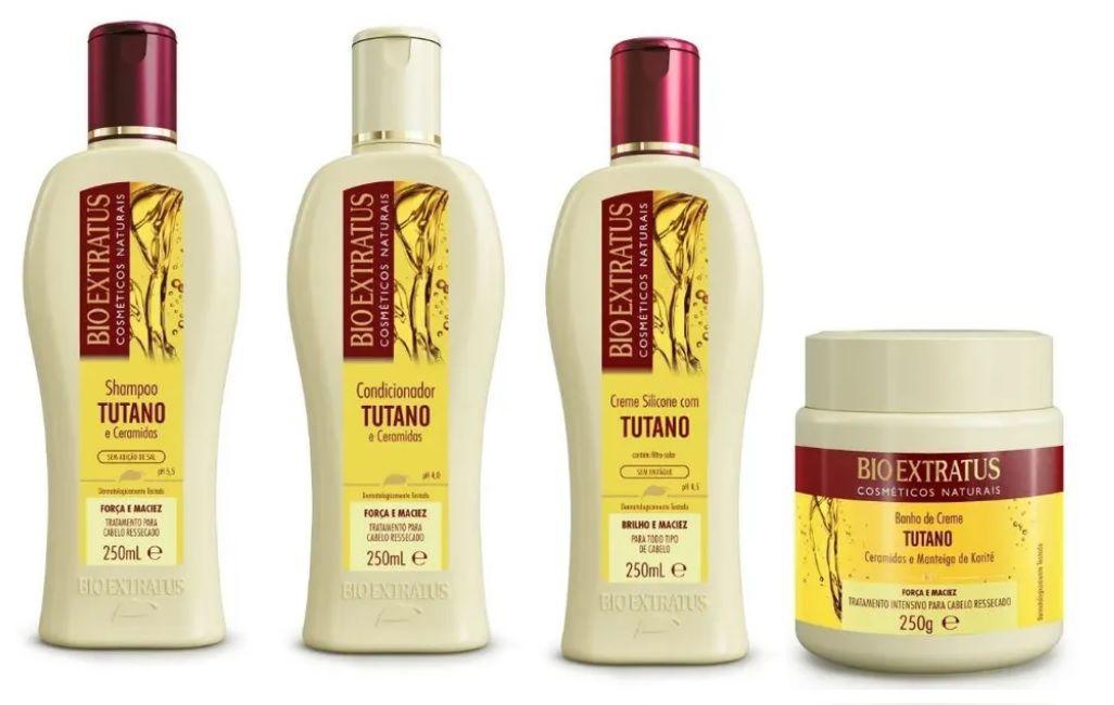 Kit Bio Extratus Tutano e Cerâmidas 250ml ( 4 Produtos )