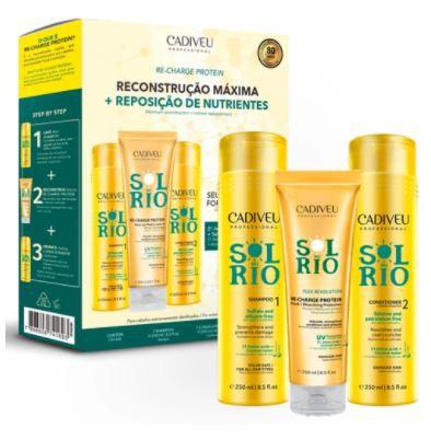 Kit Cadiveu Professional Sol do Rio Home Care