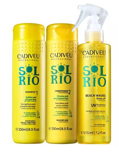 Kit Cadiveu Professional Sol do Rio Home Care - Com Leave On