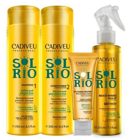 Kit Cadiveu Professional Sol do Rio Home Care - Completo