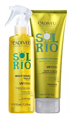 Kit Cadiveu Professional Sol do Rio Home Care Máscara + Leave On