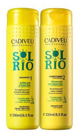 Kit Cadiveu Professional Sol do Rio Shampoo + Condicionador