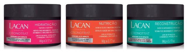 Kit Cronotrat Lacan - Cronograma Capilar