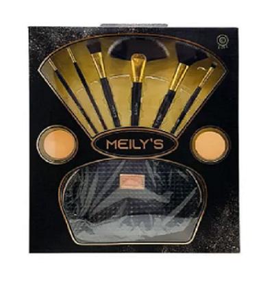 Kit De Pincéis Meily's Mkp-119