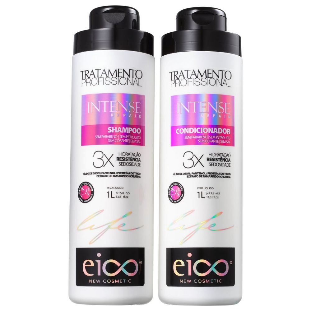 Kit Eico Life Intense Repair Duo (2 Produtos)