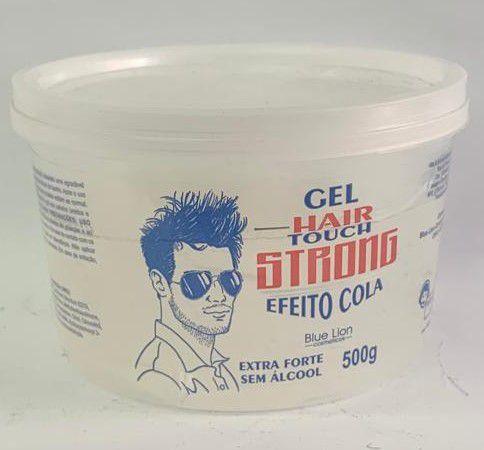 KIT - Gel Hair Touch Strong Efeito Cola 500g - 12 UNIDADES