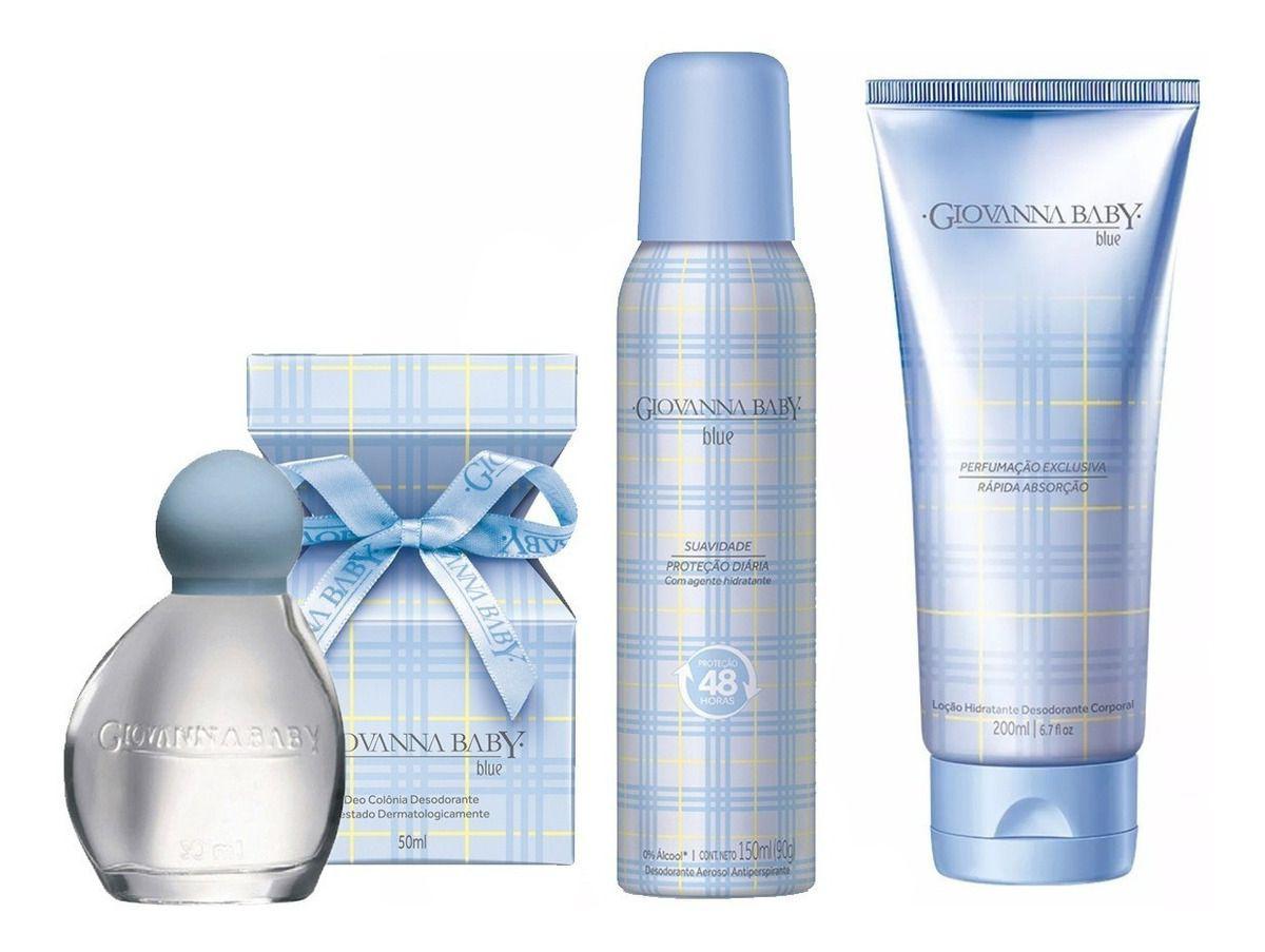 Kit Giovanna Baby Blue 3 Produtos