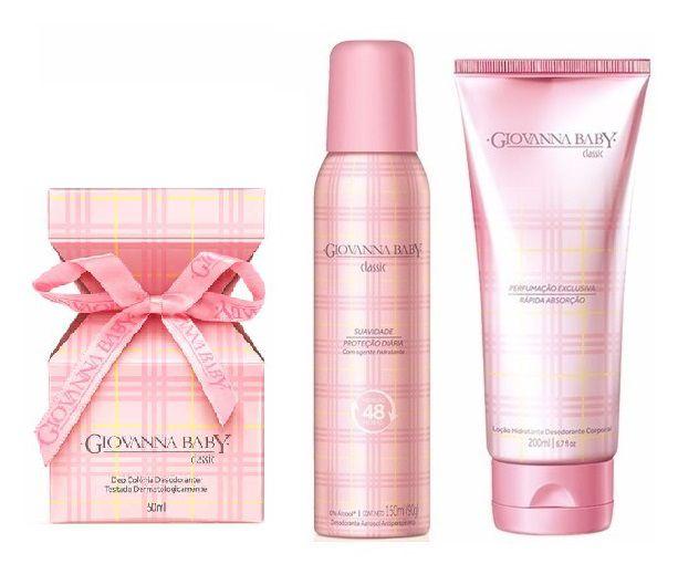 Kit Giovanna Baby Classic 3 Produtos