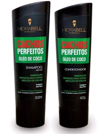 Kit Hidrabell Cachos Perfeitos - Shampoo e Condicionador