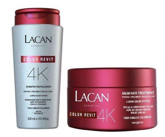 Kit Lacan 4K Shampoo + Máscara