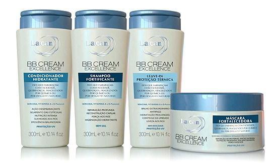 Kit Lacan Bb Cream Excellence 04 Produtos