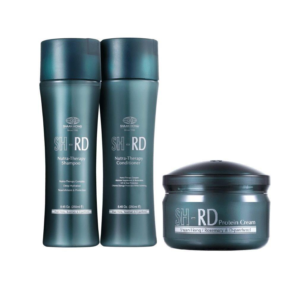 Sh Rd Nutra-Therapy Shampoo+Condicionador 250ml+Protein Cream 80ml