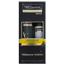 Kit Shampoo Tresemme Detox Capilar + Condicionador
