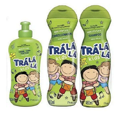 Kit Tralálá Anti-frizz 3 Produtos