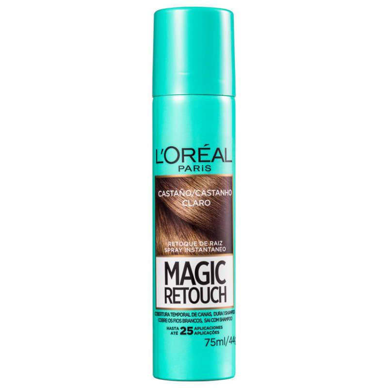 L'Oréal Paris Magic Retouch Castanho Claro - Corretivo de Raiz 75ml