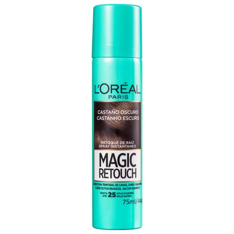 L'Oréal Paris Magic Retouch Castanho Escuro - Corretivo de Raiz 75ml