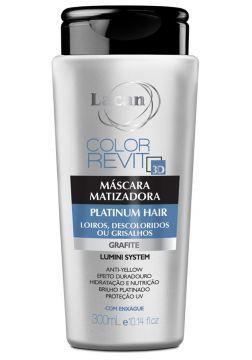 Lacan Color Revit 3D Máscara Matizadora 300ml - Platinum Hair