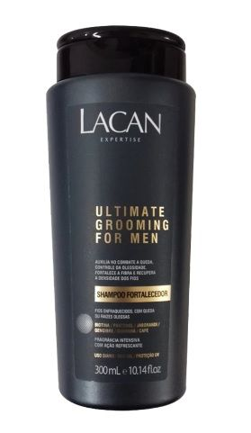 Lacan Ultimate Grooming for Men Shampoo Fortalecedor 300ml