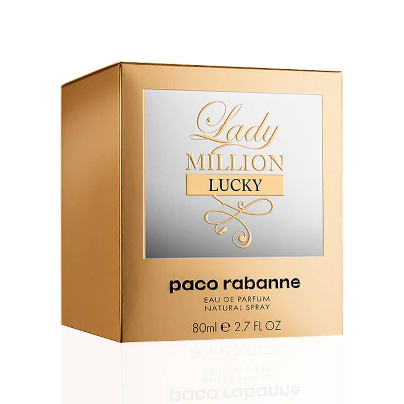 Lady Million Lucky Paco Rabanne Eau de Parfum - Perfume Feminino 80ml