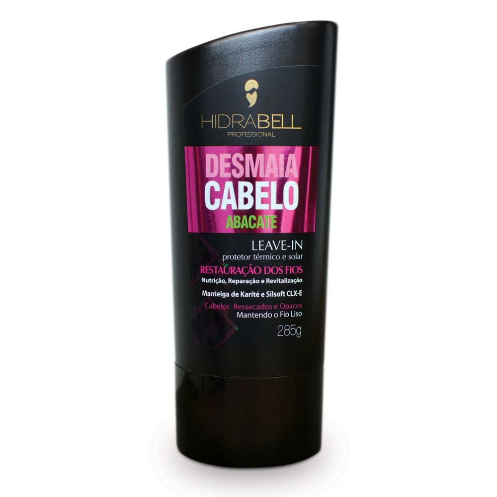 Leave-in Cabelo Liso Abacate 285g - Hidrabell