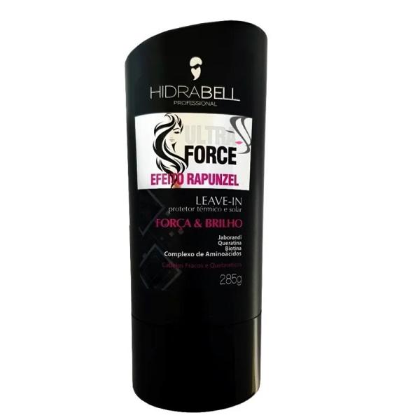 Leave-in Hidrabell Ultra Force Efeito Rapunzel 285g