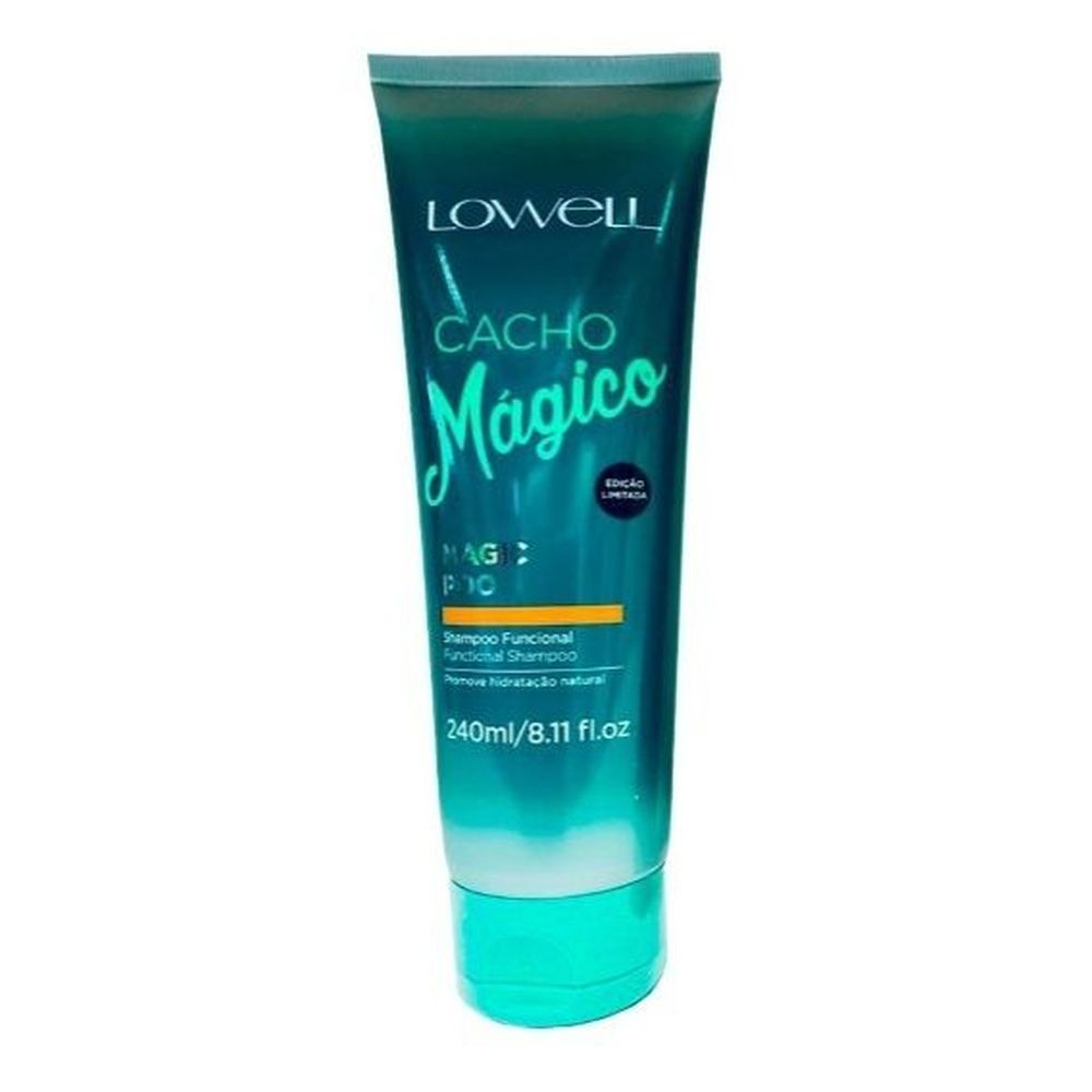 Lowell Cacho Mágico Magic Poo Shampoo Funcional 240ml