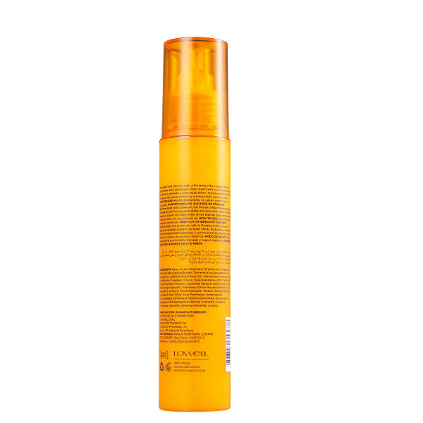 Lowell Deslumbre Proteína Anti-Quebra - Spray Protetor Térmico 100ml