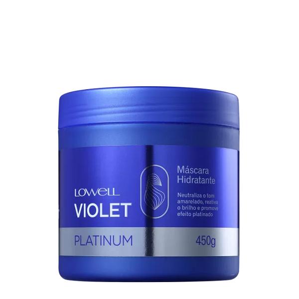 Lowell Violet Platinum - Máscara Matizadora 450g