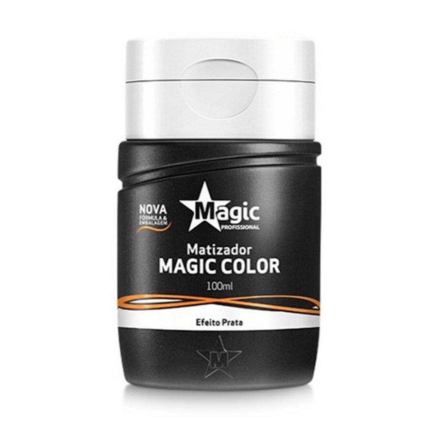 Magic Color - Gloss 3d Matizador Efeito Prata 100ml