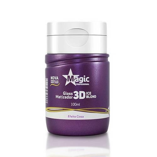 Magic Color - Gloss 3d Matizador Ice Blond Efeito Cinza 100ml