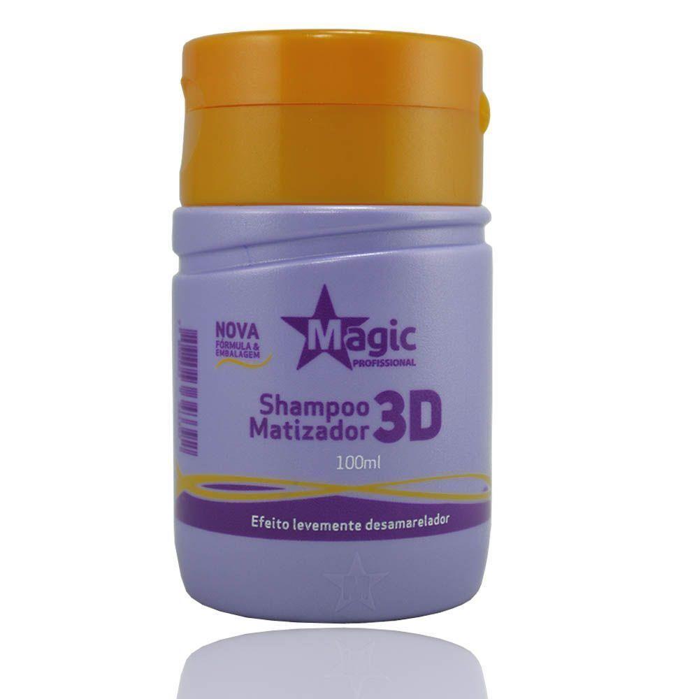 Magic Color Shampoo Matizador 3D 100ml
