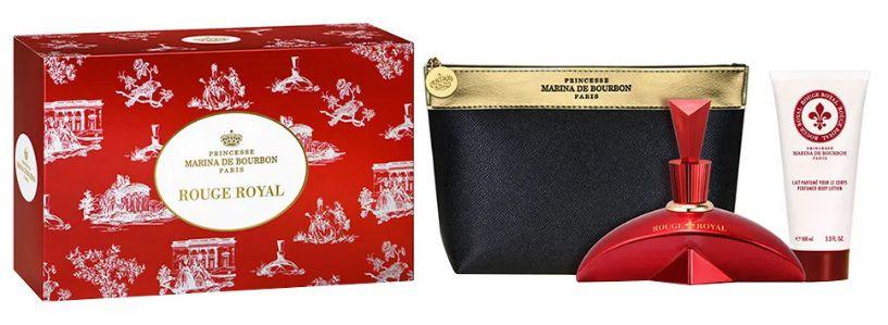 Marina de Bourbon Rouge Royal Kit – EDP + Loção Corporal + Necessáire