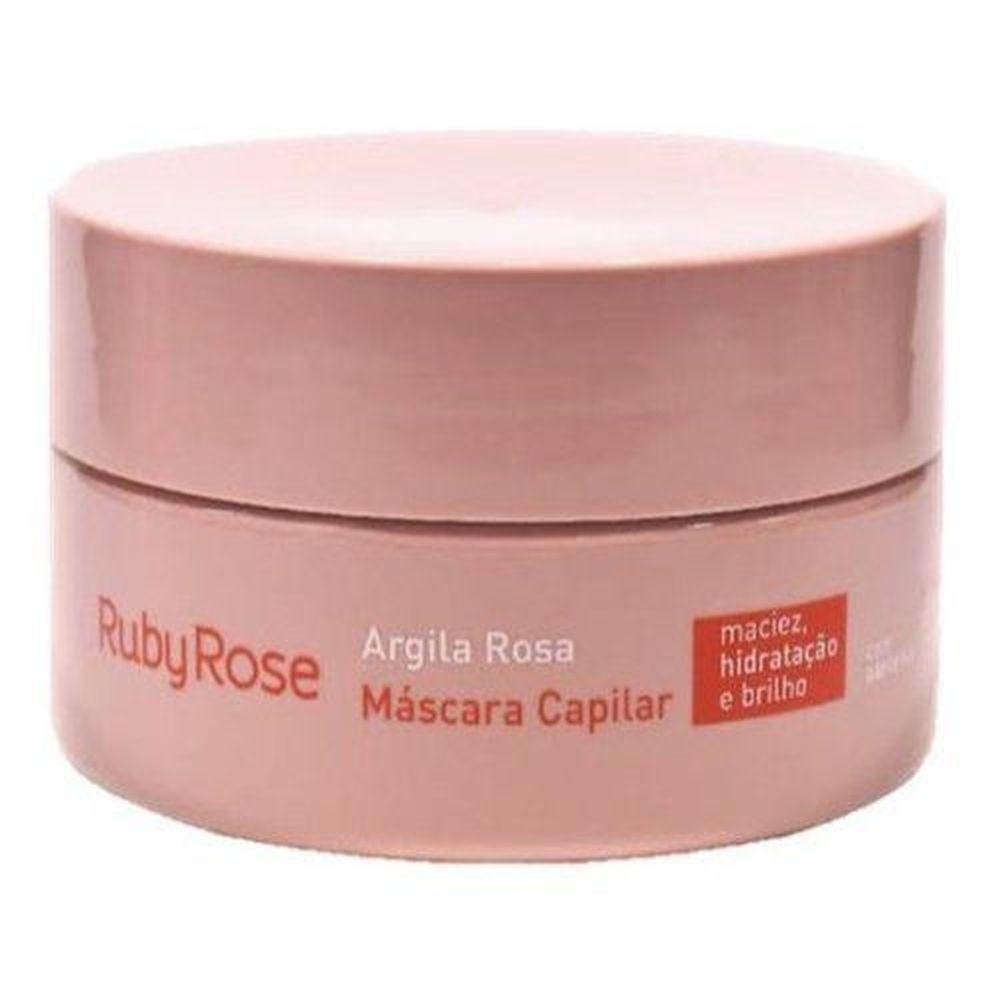 Máscara Capilar Argila Rosa Ruby Rose 200g