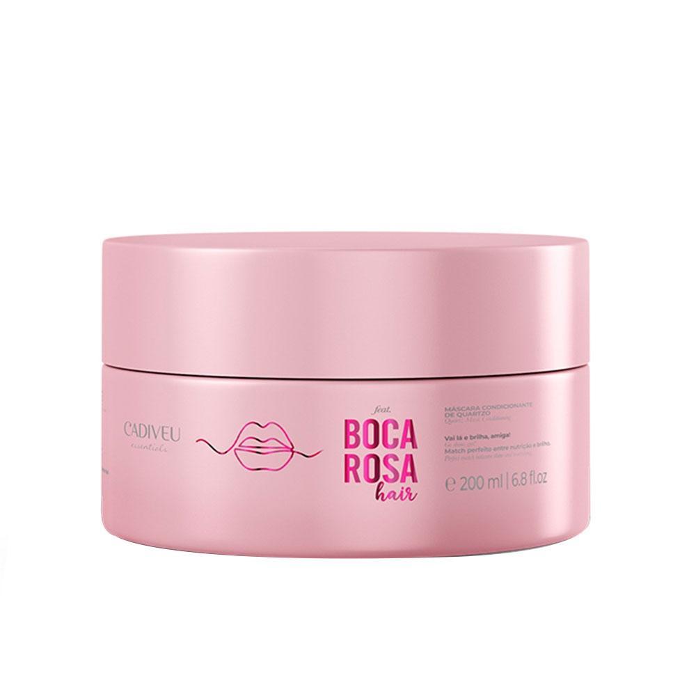 Máscara Condicionante 200ml Boca Rosa Hair Quartzo Cadiveu
