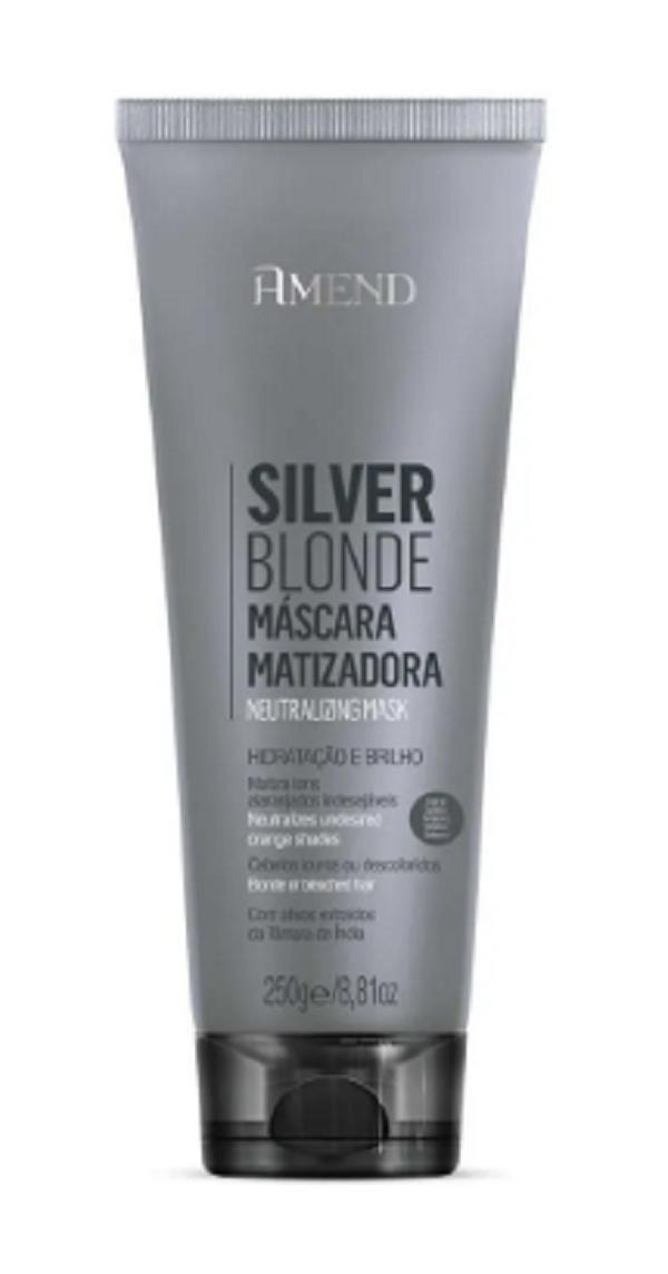 Mascara Matizadora Amend Silver Blonde 250g