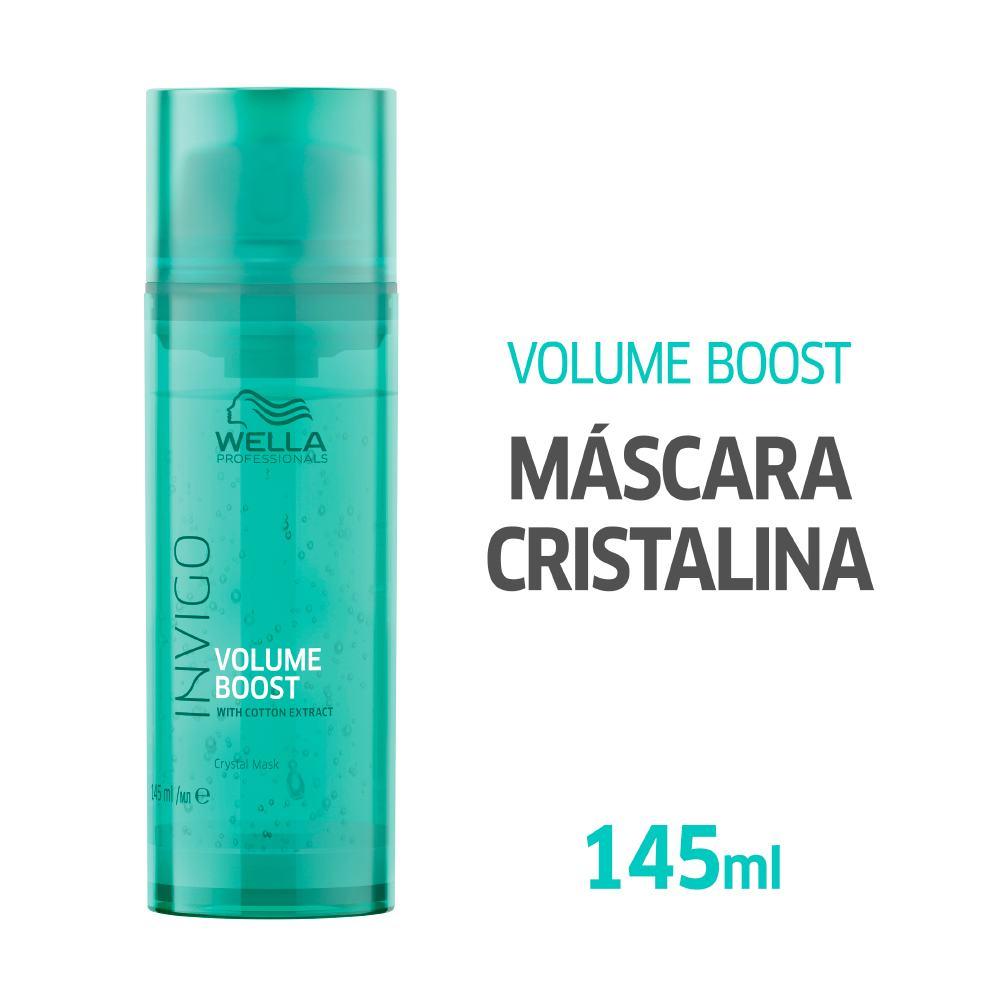 Máscara Wella Professionals Invigo Volume Boost Crystal 145ml