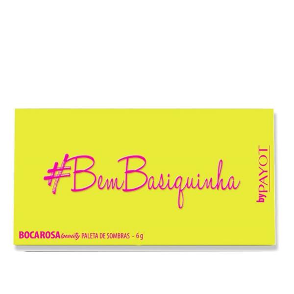 Boca Rosa Beauty By Payot Bem Basiquinha - Paleta de Sombras 6g