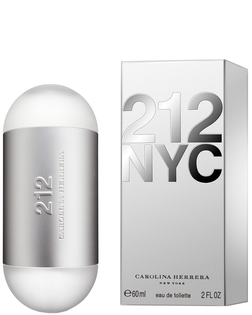 212 Nyc Carolina Herrera Eau de Toilette Perfume Feminino 60ml