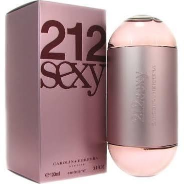 212 Sexy Carolina Herrera Eau de Parfum - Perfume Feminino 100ml