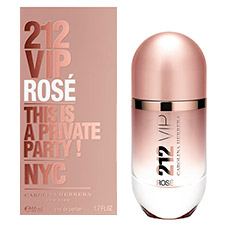212 Vip Rose Eau de Parfum Perfume Feminino 30ml
