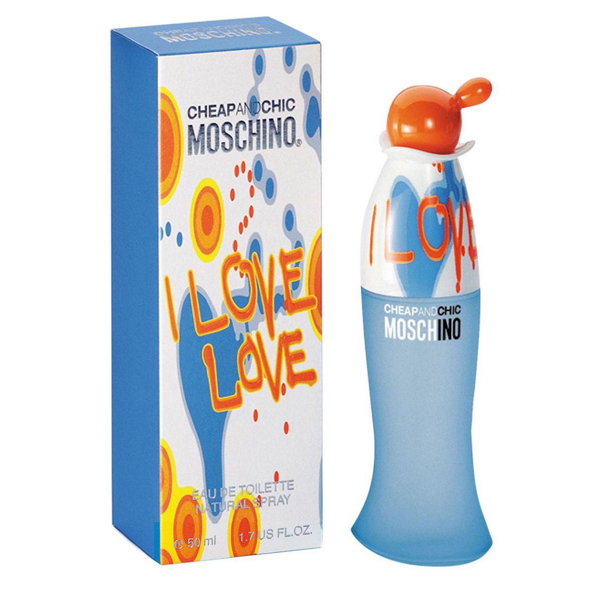 Perfume Feminino Moschino i Love Love Eau de Toilette 50ml