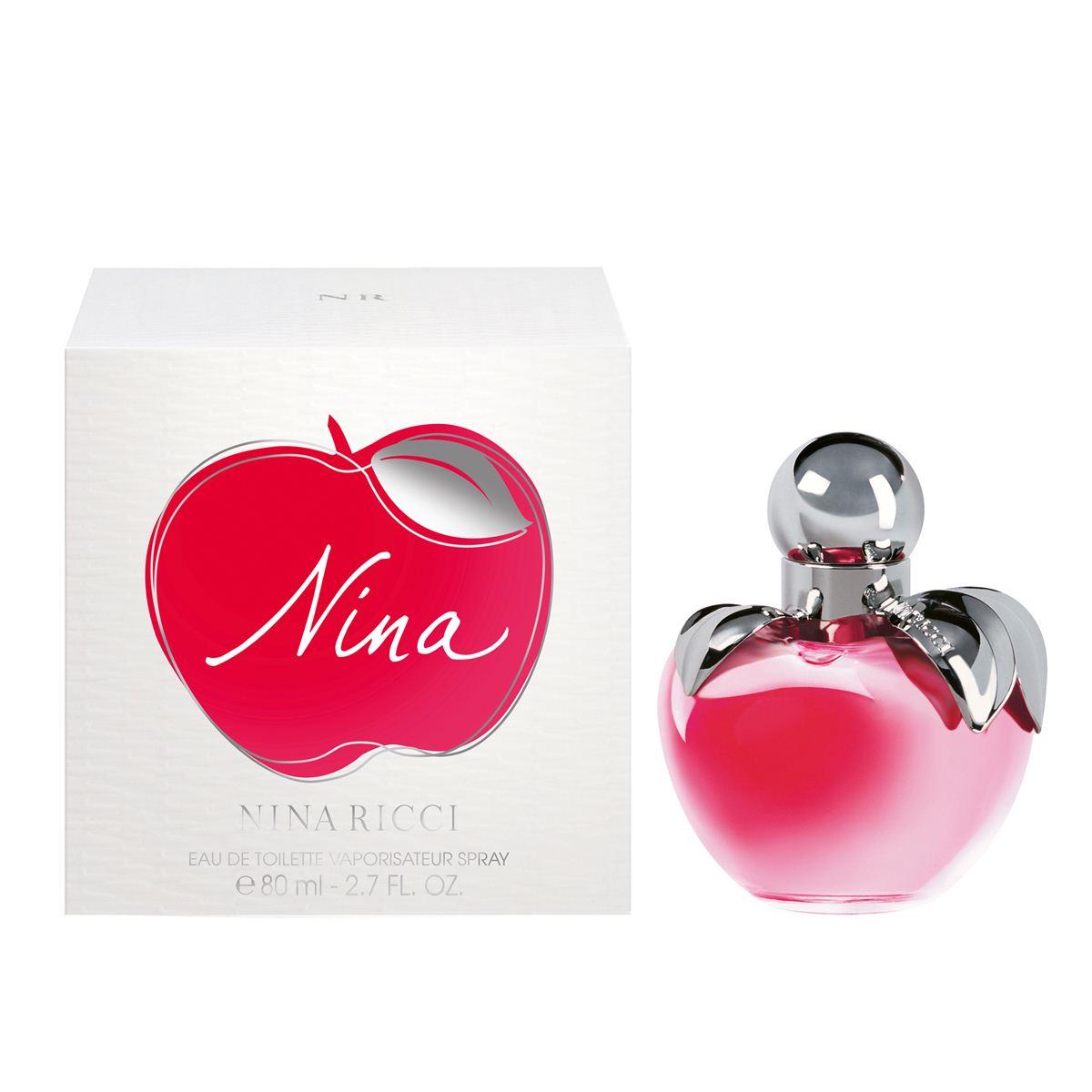 Perfume Feminino Nina Ricci Eau de Toilette 80ml