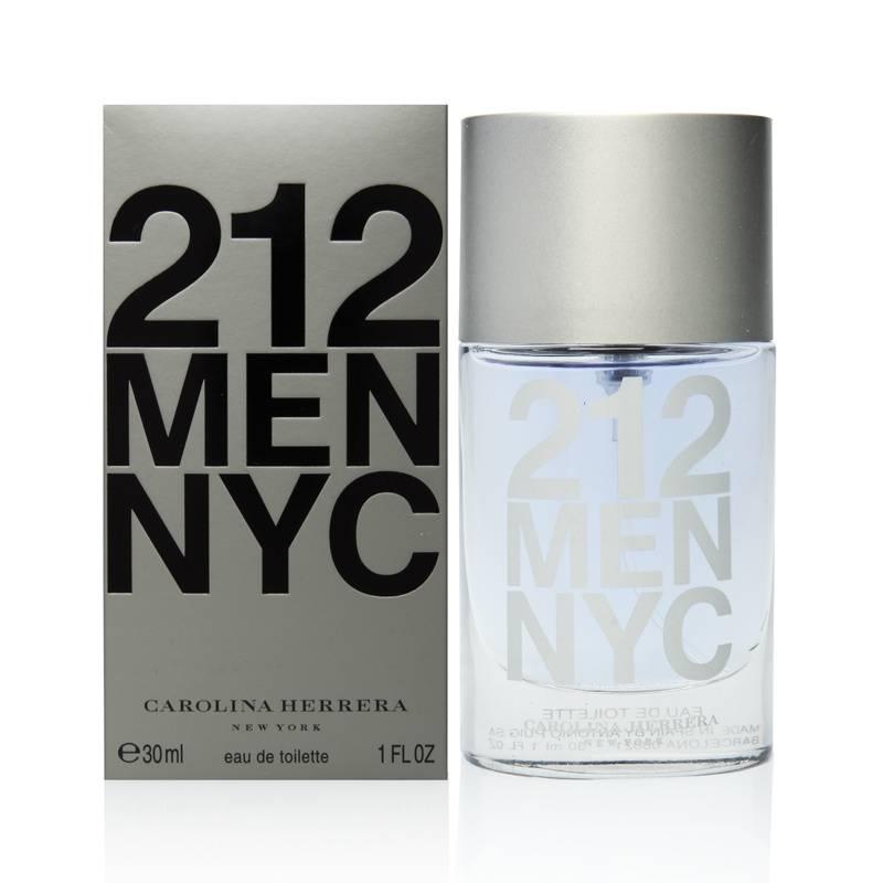 3b3604daf Perfume Masculino 212 Men Nyc Eau de Toilette 30ml - CAROLINA ...