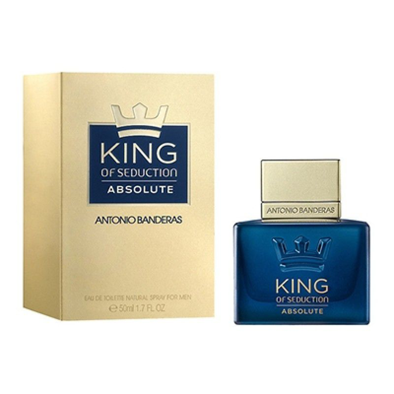 King Of Seduction Absolute Antonio Banderas Perfume Masculino 50ml