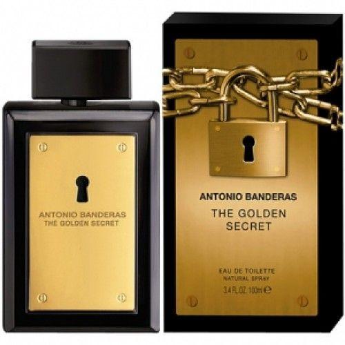 The Golden Secret Antonio Banderas Perfume Masculino 100ml