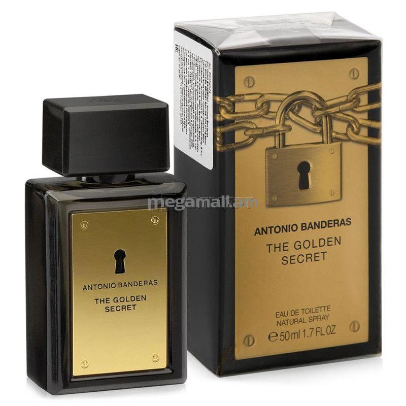 The Golden Secret Antonio Banderas Perfume Masculino 50ML