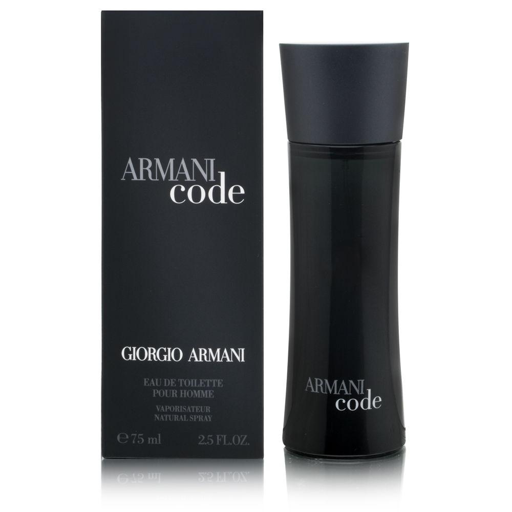 Perfume Masculino Armani Code Pour Homme Eau de Toilette 75ml