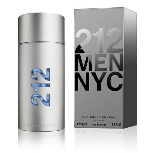 Perfume Masculino Carolina Herrera 212 Eau De Toilette 100 Ml